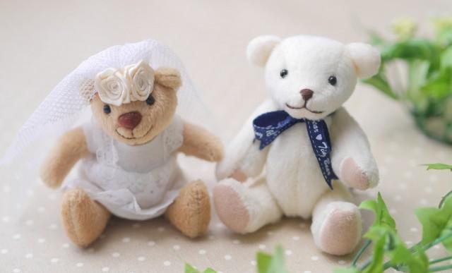 テディベアの結婚