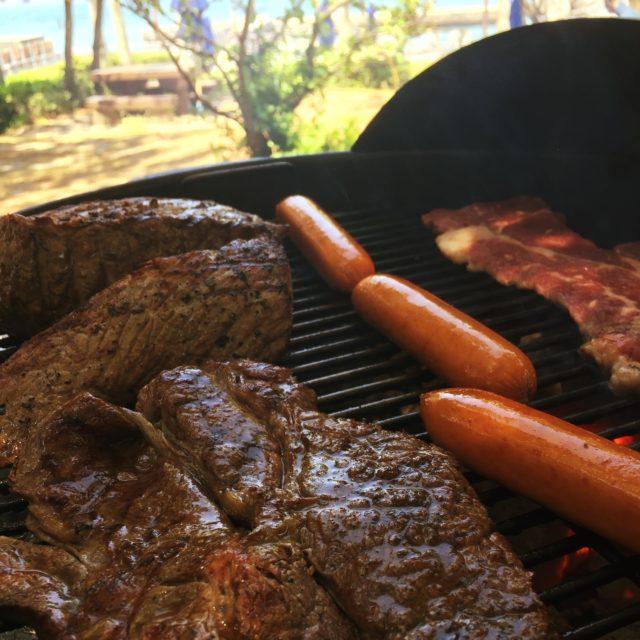 婚活BBQステーキ、ローストビーフ